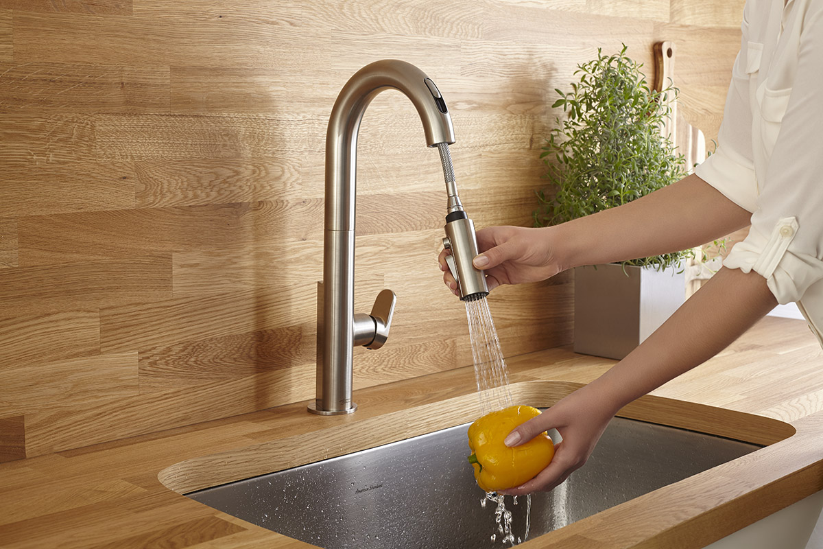 American Standard\'s Beale Touchless Faucet Brings Sleek Style ...